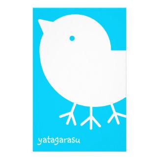 Cute Yatagarasu (white) Stationery