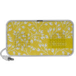 Cute yellow autumn berries portable speakers