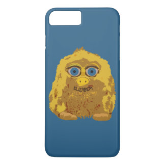 Cute Yellow Bigfoot With Big Blue Eyes iPhone 7 Plus Case