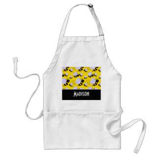 Cute Yellow & Black Bee Apron