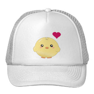 Cute yellow chick hat
