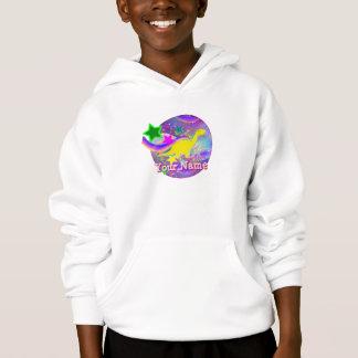Cute Yellow Dinosaur Sweatshirt