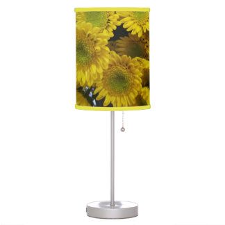 Cute Yellow Flowers Picture Lamp