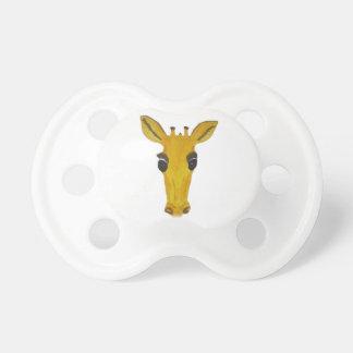 Cute Yellow Giraffe Pacifier