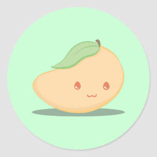 Cute Yellow Mango Sticker