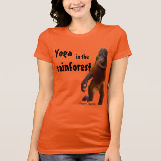 Cute Yoga with Animals T-Shirt