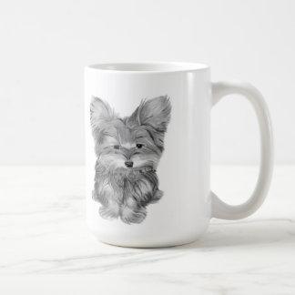 Cute Yorkie Dogs mug