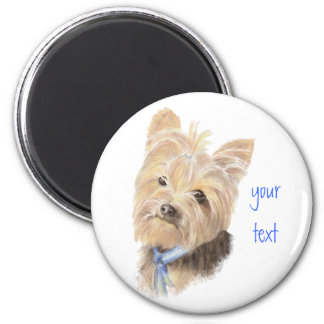 Cute Yorkie, Yorkshire Terrier, Dog, Pet Magnet