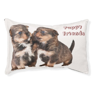 Cute Yorkshire Puppies Small Dog Bed