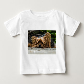 Cute Yorkshire Puppy Baby T-Shirt