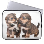 Cute Yorkshire Terrier Puppies Laptop Sleeve