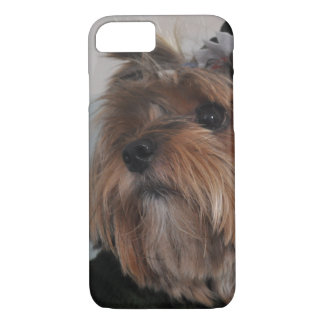 Cute Yorkshire Terrier Puppy Dog iPhone 8/7 Case