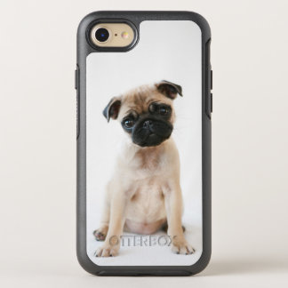 Cute Young Pug Dog OtterBox Symmetry iPhone 8/7 Case