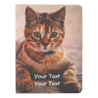 Cute Young Tabby Cat Kitten Kitty Pet Extra Large Moleskine Notebook