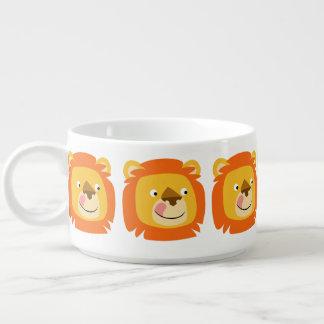 Cute Yummy Cartoon Lion Bowl