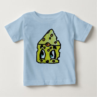 Cute Yummy Swiss Cheese Graphic T-Shirt