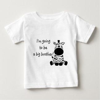 Cute Zebra Big Brother T Shirt