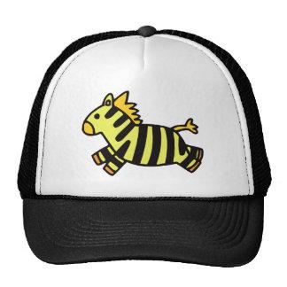 Cute Zebra Mesh Hats