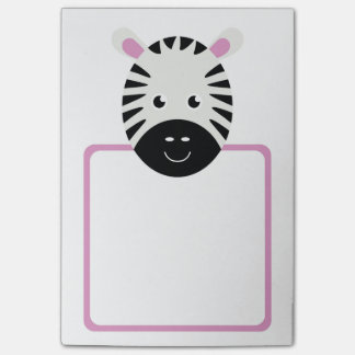 Cute Zebra Post-it Notes