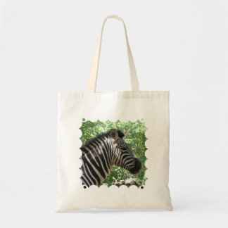 Cute Zebra Small Budget Tote