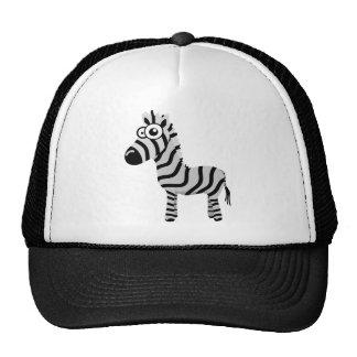 Cute zebra trucker hat