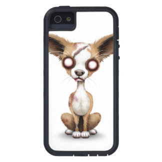 Cute Zombie Chihuahua Puppy Dog White Case For The iPhone 5