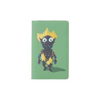 Cute Zombie Custom Notebook - Pocket