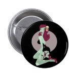 Cute Zombie Pin-Up Girl