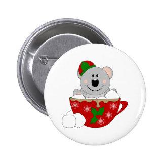 Cutelyn Christmas Mug Koala Bear Pins