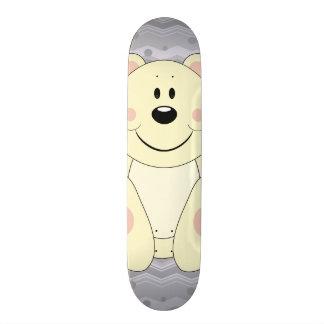 Cutelyn Polar Bear Skateboard Deck