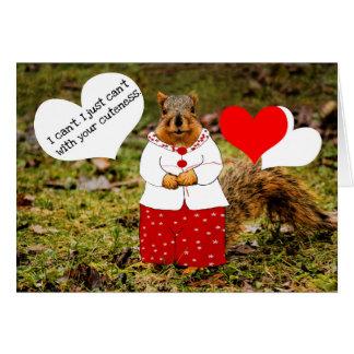 Cuteness Card