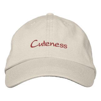 Cuteness Embroidered Baseball Caps