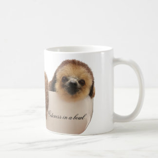 """Cuteness in a Bowl"" Sloth Mug"