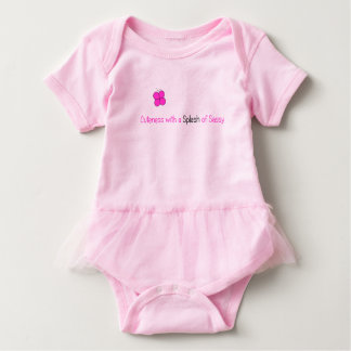 Cuteness with a Splash of Sassy Baby Bodysuit
