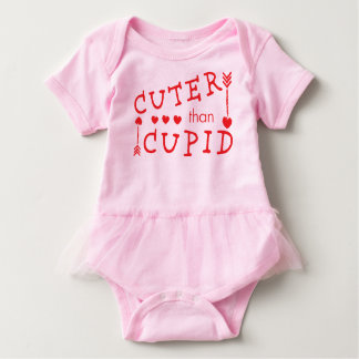 Cuter than Cupid Valentine's Day Baby Bodysuit