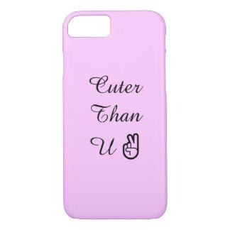 Cuter Than U iPhone 7 Case
