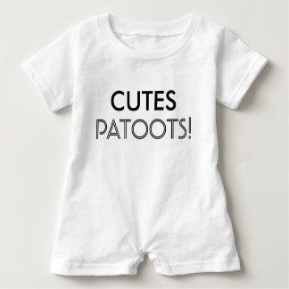 Cutes Patoots Baby Toddler Child Shirt Sleeper