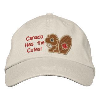 Cutest Beaver Embroidered Hat
