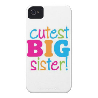 CUTEST BIG SISTER iPhone 4 COVER