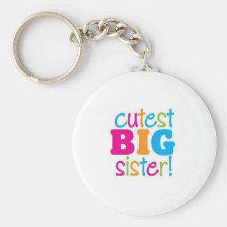 CUTEST BIG SISTER KEYCHAIN