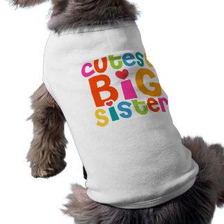 Cutest Big Sister Pet Tee Shirt