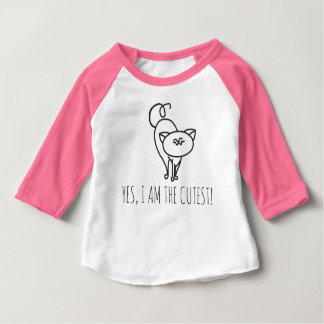 Cutest cat baby T-Shirt
