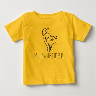 Cutest cat baby T-Shirt