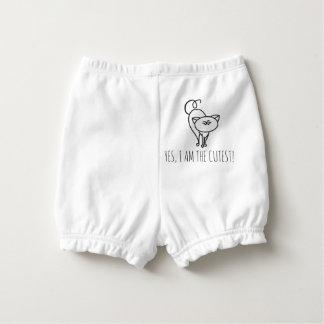 Cutest cat diaper cover