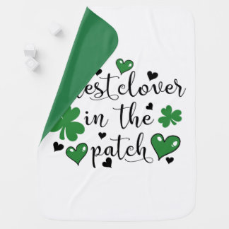 cutest clover in the patch baby blanket