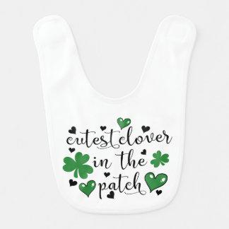 cutest clover in the patch bib
