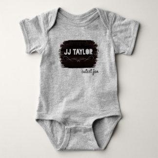 Cutest Fan one piece Baby Bodysuit