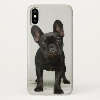 Cutest French Bulldog Puppy iPhone X Case