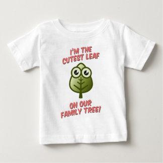 Cutest Leaf On Tree Baby T-Shirt