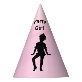 Cutest Little Dancer Party Girl Party Hat
